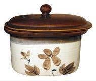 Ceramic Oven Dish Royalty Free Stock Image