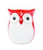 Ceramic owl bird Stock Photos