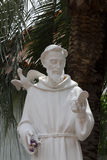 Ceramic Padre Statue Royalty Free Stock Photography