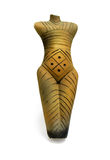 Ceramic pagan statue stock images
