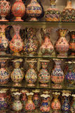 Ceramic painted vases and jars Royalty Free Stock Photo