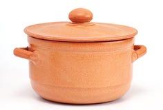 Ceramic  pan Royalty Free Stock Photography