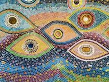 Ceramic pattern decoration Stock Photo