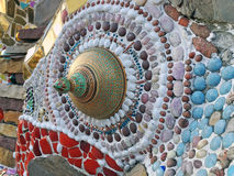 Ceramic pattern decoration Royalty Free Stock Photos