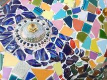 Ceramic pattern decoration Stock Photos