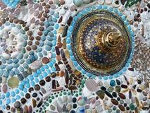 Ceramic pattern decoration Stock Image