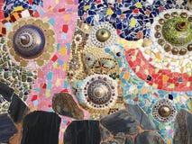 Ceramic pattern decoration Stock Images
