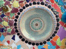 Ceramic pattern decoration Royalty Free Stock Photo