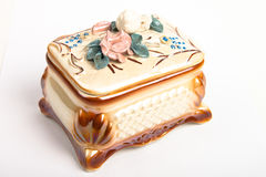Ceramic photo box Stock Images