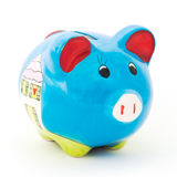 Ceramic pig box Royalty Free Stock Image