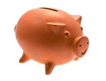 Ceramic pig isolated Stock Photos