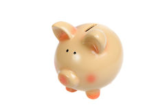 Ceramic piggy bank Royalty Free Stock Image