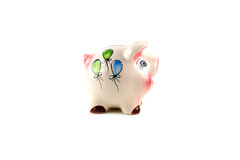 Ceramic piggy bank Stock Images