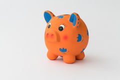 Ceramic piggy bank Stock Photo