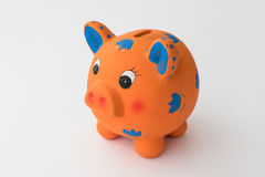Ceramic piggy bank Stock Photos