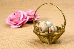 Ceramic pigs Stock Images