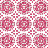 Ceramic Pink Floral Pattern Royalty Free Stock Photo