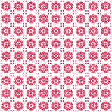 Ceramic Pink Floral Pattern Stock Images