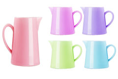 Ceramic Pitchers Royalty Free Stock Photo