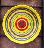 Ceramic plate Stock Images
