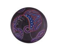 Ceramic plate varnished. Stock Image