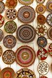 Ceramic plates. Royalty Free Stock Image