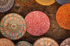 Ceramic plates Stock Image