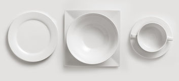 Free Ceramic Plates & Cup Royalty Free Stock Photo - 17769275