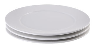 Ceramic plates in white colour Stock Image  sc 1 st  Dreamstime.com & Ceramic Plates In White Colour Stock Image - Image of still shadow ...