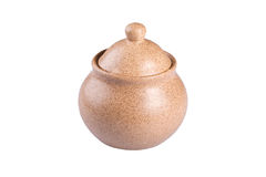 Ceramic pot Stock Image