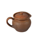 Ceramic pot Royalty Free Stock Image