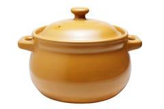 Ceramic pot Stock Photography