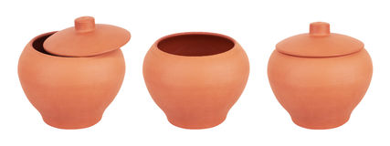 Ceramic pot Stock Images