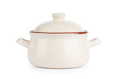 Ceramic pot. soup tureen Royalty Free Stock Photography