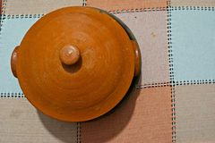 Ceramic Pot Royalty Free Stock Photography