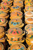 Ceramic Pots. Exposed For Sale royalty free stock photo