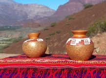 Ceramic pots Royalty Free Stock Photography