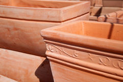 Ceramic pots Royalty Free Stock Photography