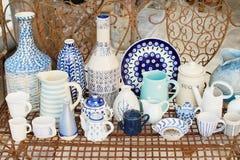 Ceramic pots, jar,jug Stock Photography
