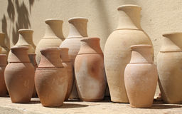 Ceramic pots in Turkey Stock Images