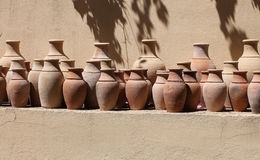 Ceramic pots in Turkey Royalty Free Stock Image