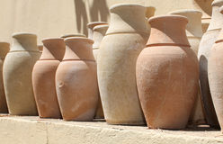 Ceramic pots in Turkey Stock Image
