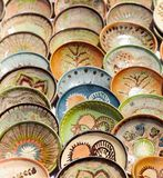 Ceramic pottery at Horezu, Romania Royalty Free Stock Images
