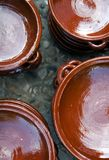 Ceramic pottery in Mallorca Royalty Free Stock Images