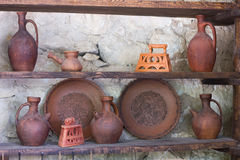 Ceramic pottery Stock Photo
