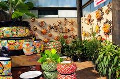 Ceramic & pottery in South Florida Stock Photos