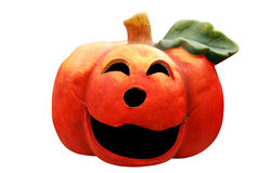Ceramic pumpkin head Stock Image