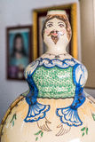 Ceramic puppet Royalty Free Stock Images