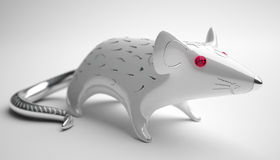 Ceramic rat. Depth of field Royalty Free Stock Photos