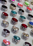 Ceramic rings round Royalty Free Stock Photography